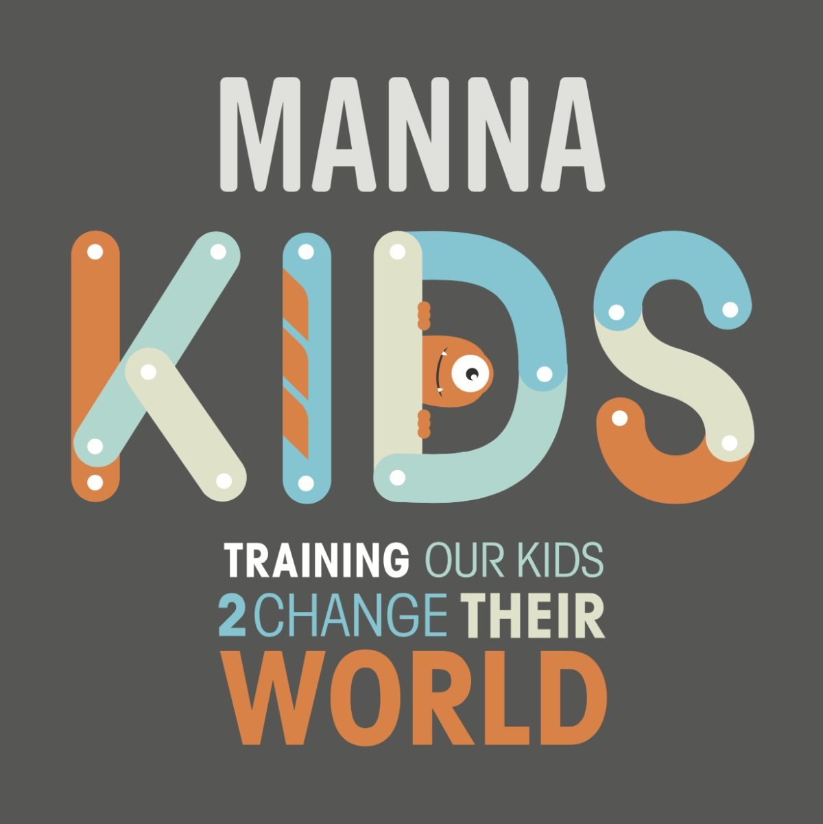 Manna Kids Logo; Children's Ministry